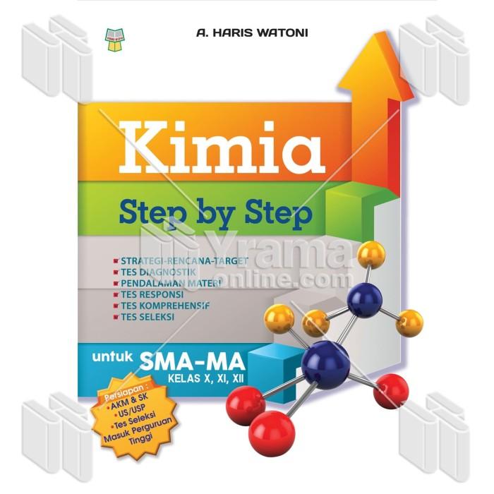 Foto Produk BUKU KIMIA STEP BY STEP UNTUK SMA/MA dari Yrama Widya Online