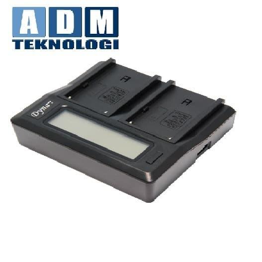 Foto Produk Dynacore Charger DDBC-TF for DV-6S/Sony NPF dari ADM tekno