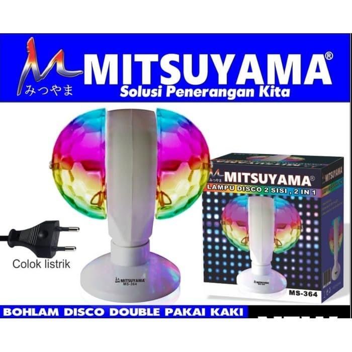 Foto Produk Lampu Disko Dua Sisi disco 2 Kepala + Kaki Mitsuyama MS-364 dari grosirltc