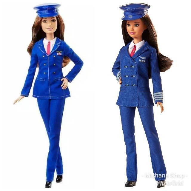 Jual New Arrival Boneka Barbie Mattel Career Pilot Doll Original Mattel Jakarta Pusat Annchi Market Tokopedia