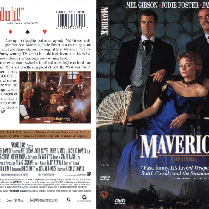 Jual Film Dvd Maverick 1994 Movie Collection Film Koleksi Jakarta Barat M Collector Tokopedia
