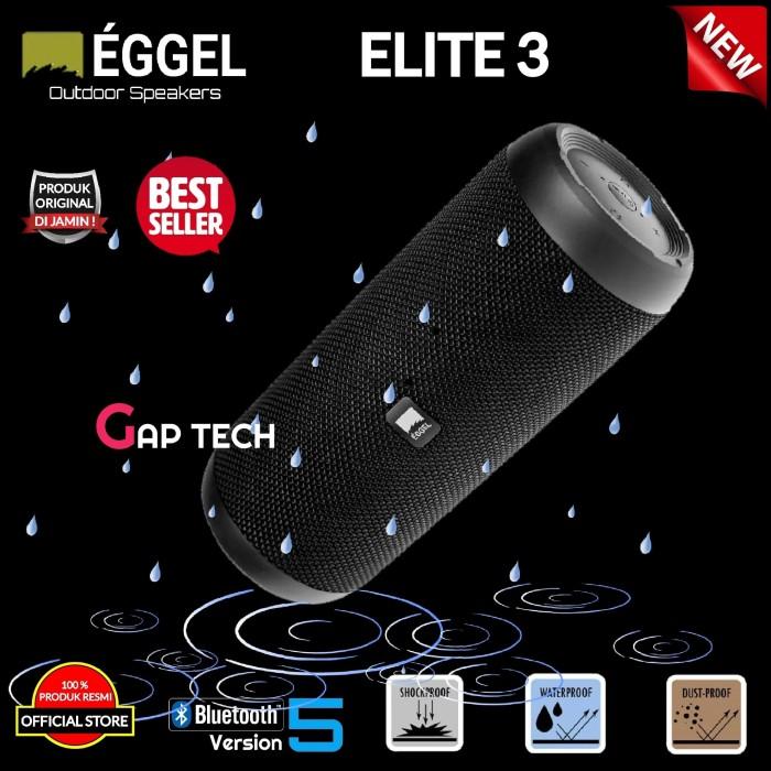Foto Produk Eggel Elite 3 / Elite3 Portable Bluetooth Speaker Original dari GAP TECH OFFICIAL