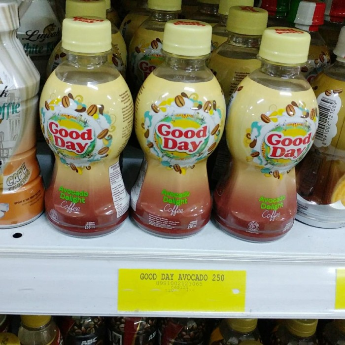 Jual Good Day Kopi Avocado Delight Coffee 250ml Kota Cirebon Cahaya Surya 88 Tokopedia
