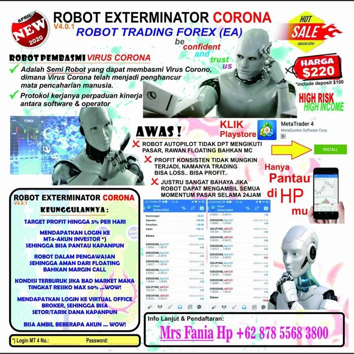 harga robot trading forex strategi perdagangan forex emas