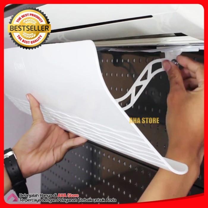 Foto Produk Bervin Air Protection BAP-11 Penahan Angin AC Talang AC - Putih dari AHA Store Official