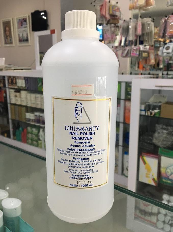 Jual Best Seller Rhissanty Nail Polish Remover 1000ml Kualitas Nomor Satu Jakarta Timur Gienka Store Tokopedia