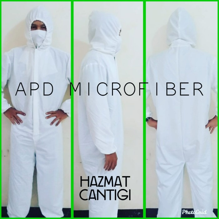 Foto Produk APD HAZMAT, SUIT HAZMAT, Baju Hazmat MICROFIBER dari BEE SHOP TANGERANG