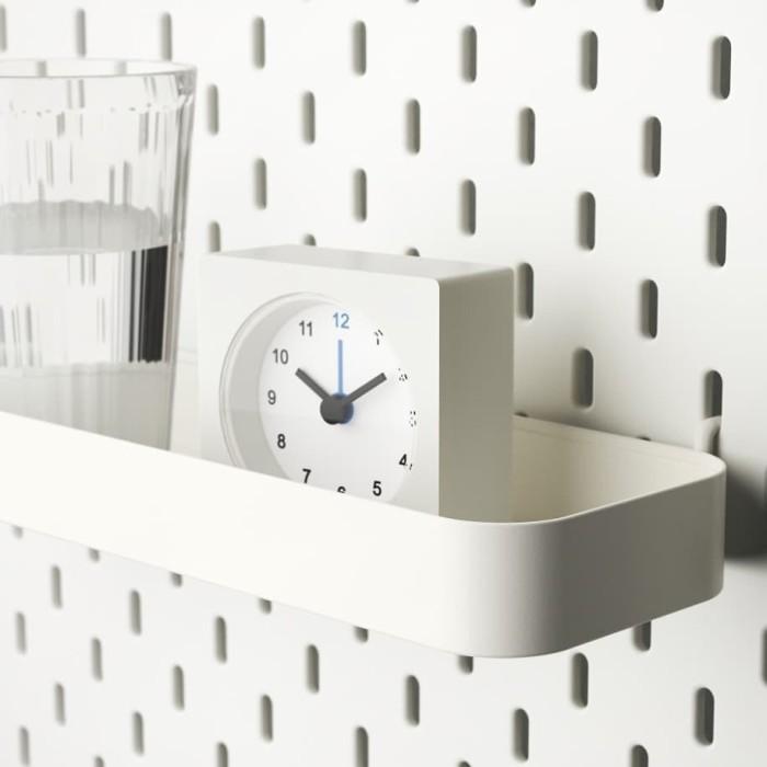 Foto Produk Aksesoris pegboard rak kait wadah container 28x9x3cm putih dari IKEA ONE Indonesia