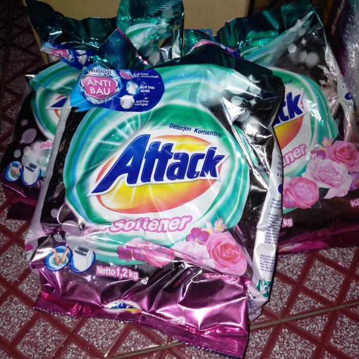 Foto Produk attack detergent konsentrat plus softener 1,2kg dari renesha