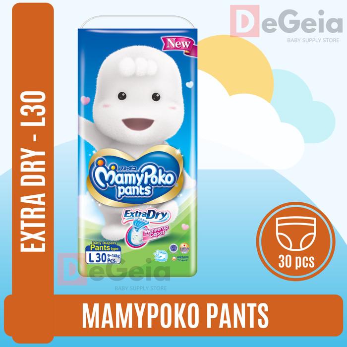 Foto Produk Mamypoko Pants Extra Dry L-30 L30 L 30 dari DeGeia