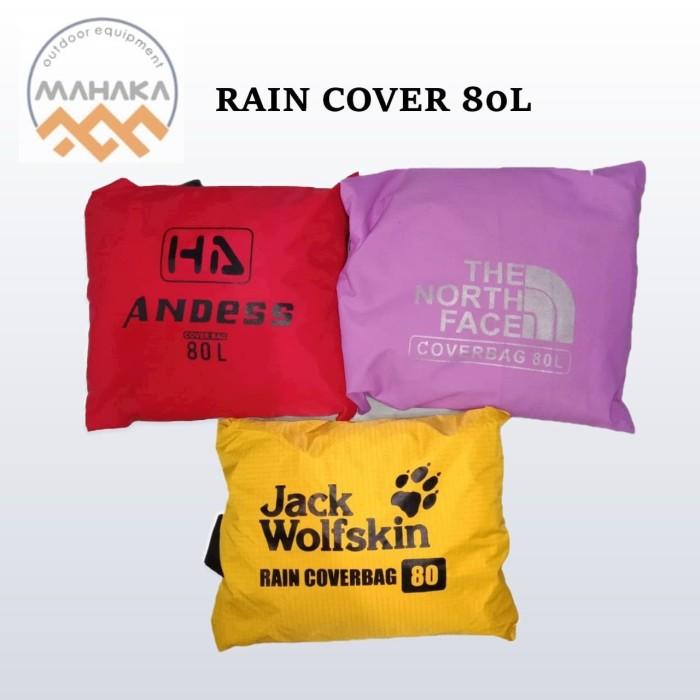 Foto Produk RAIN COVER PELINDUNG TAS 80L PELINDUNG TAS WATERPROOF dari mahaka outdoor