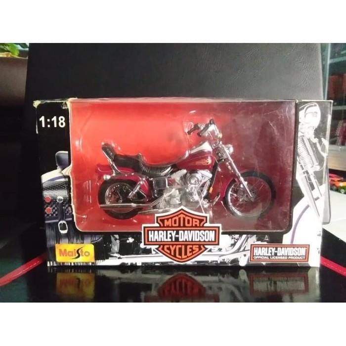 Foto Produk Diecast Maisto Harley Davidson, Skala 1 : 18 dari YDIECKINS