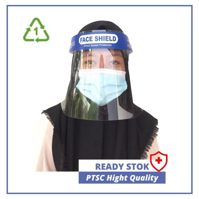 Foto Produk Face Shield Alat Pelindung Wajah USAFE Anti fog Premium dari sinar led