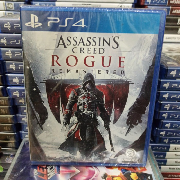 Jual Ps4 Game Assassins Creed Rogue Remastered Reg 3 Asia