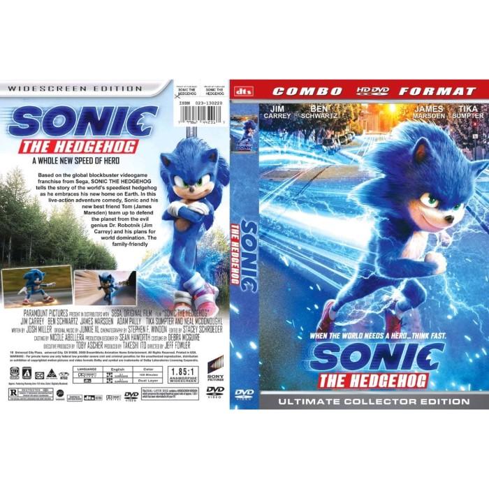 Jual Dvd Film Sonic The Hedgehog 2020 Gratis 1 Jakarta Barat Laris Jaya Glodok Tokopedia