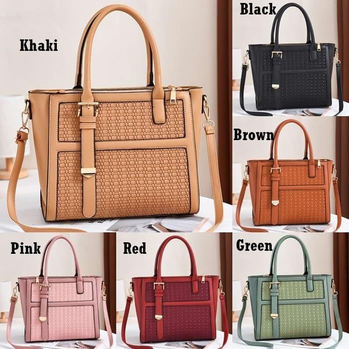 Foto Produk Hand Bag Tas Jinjing Wanita Kerja Fashion Gaya Kasual Import G90191 dari Gudang Distributor Murah