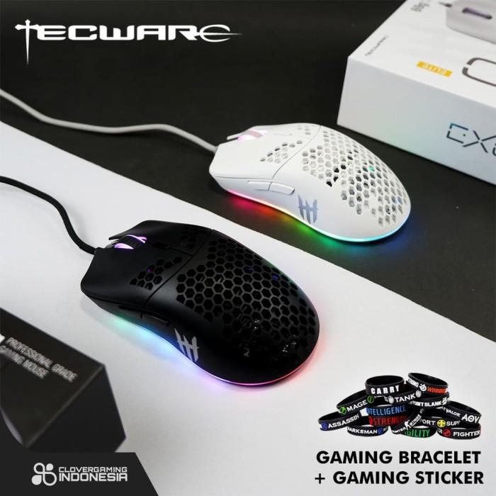 Foto Produk Tecware EXO LITE , EXO PLUS , EXO ELITE - Light Weight Gaming Mouse - EXO Lite dari Clover Gaming Indonesia