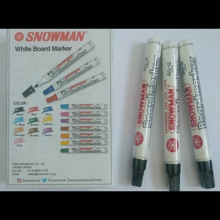Foto Produk SPIDOL SNOWMAN WHITE BOARD MARKET dari lisan shop