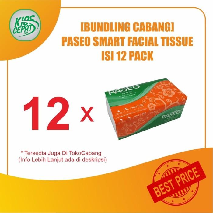 Foto Produk [BUNDLING CABANG] Tissue PASEO SMART Facial 250s isi 12Pack dari KiosCepat