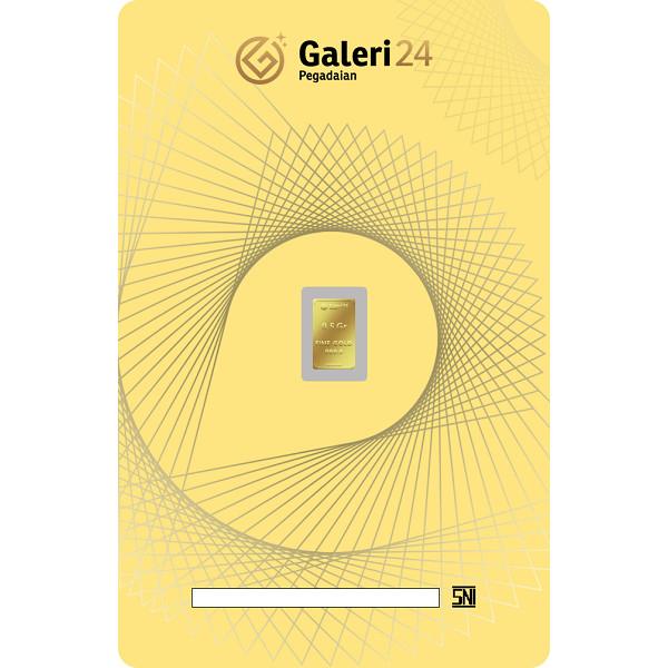Foto Produk Logam Mulia Galeri 24 - 0.5 gr dari Galeri 24 by Pegadaian