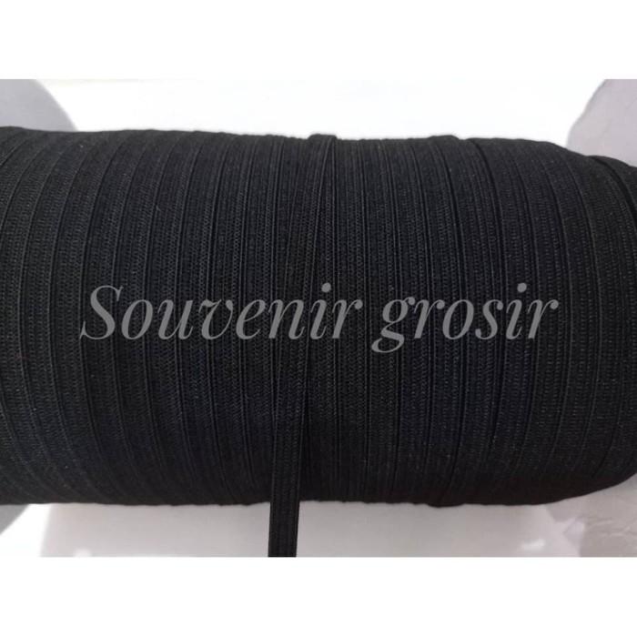 Foto Produk Karet elastis 5mm hitam (Per meter) dari Souvenir-Grosir