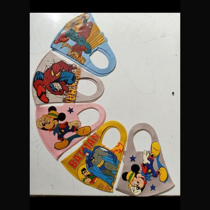 Jual Masker Anak Karakter Kartun Masker Non Medis