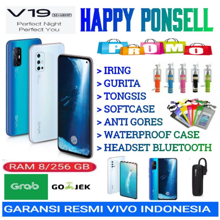 Foto Produk VIVO V19 RAM 8/256 GB GARANSI RESMI VIVO INDONESIA - demo tanpa dus dari happy ponsell
