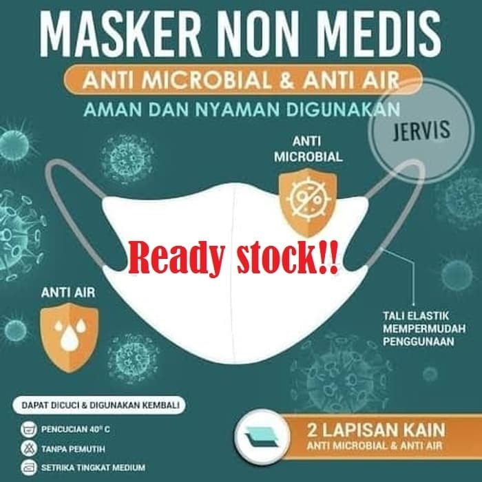 Foto Produk Masker Non Medis Kain Produksi Sritex dari Jervis