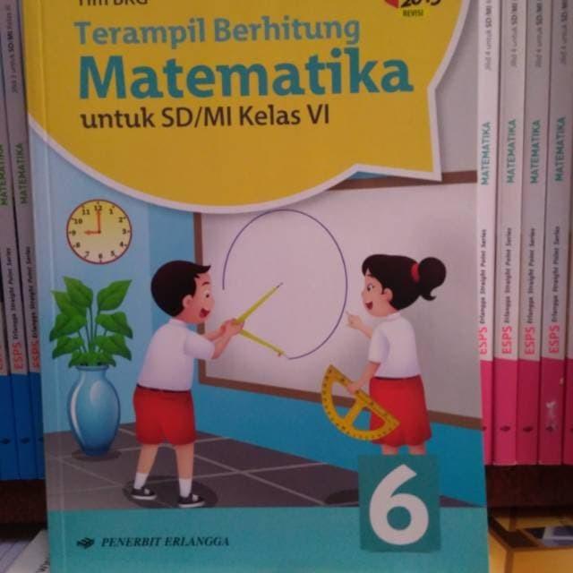 Jual Terampil Berhitung Matematika Kelas 6 Sd Mi K13 Erlangga Jakarta Timur Ulpanah Book Tokopedia