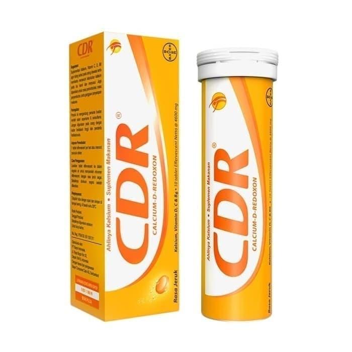 Foto Produk CDR Effervescent 10 tab Sweet Orange dari Toko Mitra Bersama