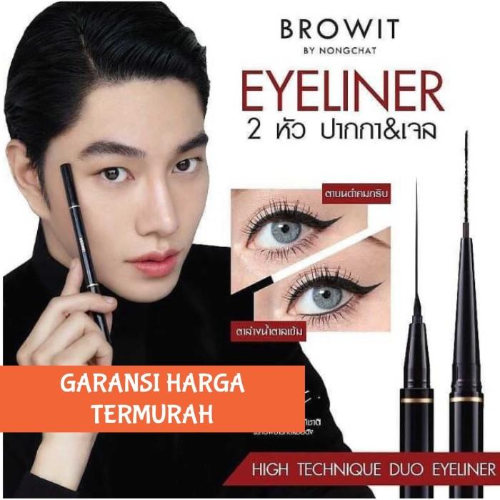 Foto Produk BROWIT BY NONGCHAT 2 IN 1 Duo Eyeliner Pen & Gel Technique Thailand dari CNN Skincare