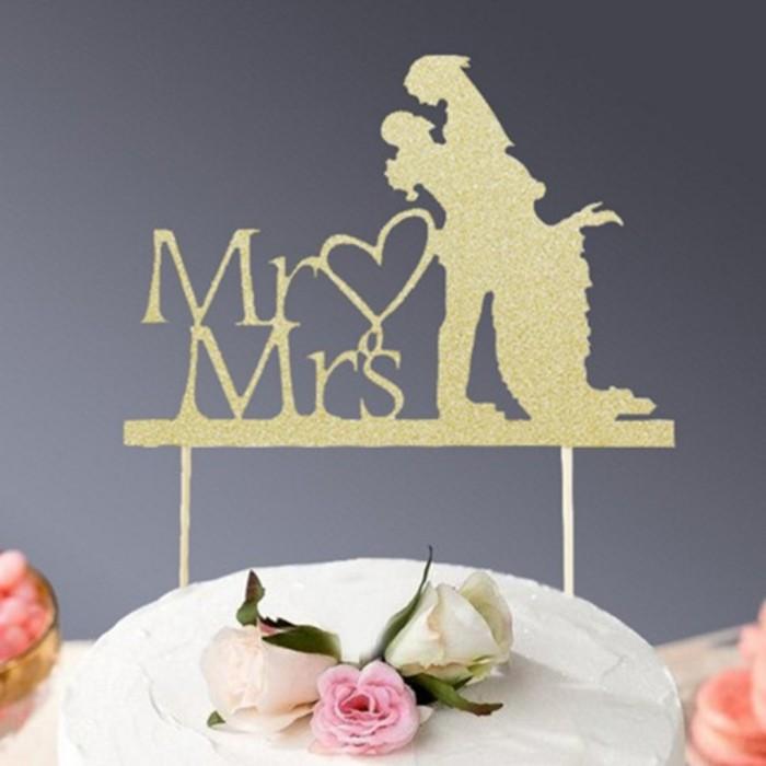 Jual Acrylic Mr Mrs Sign Bride Groom Heart Silhouette Wedding Cake Topper Kota Surabaya Alami Makmur Tokopedia