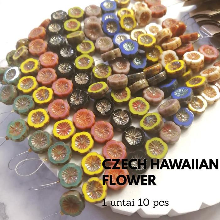 Foto Produk Manik Bunga Hawaiian Flower Varian - Abu-abu dari Studio Manik