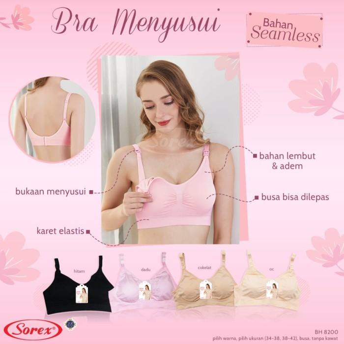 Foto Produk bh menyusui premium nursing bra sorex 8200 - Cokelat, Besar 38 - 42 dari MMcollections mom&kids