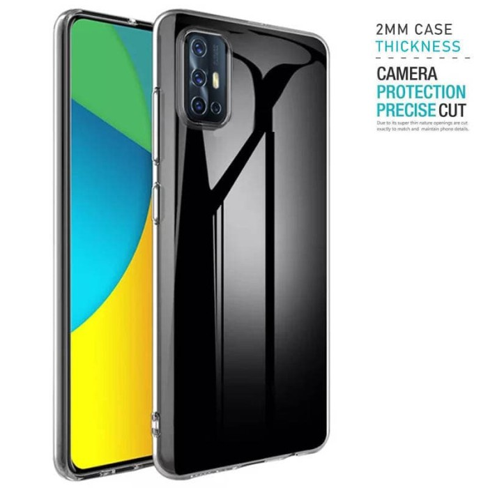 Foto Produk Tough TPU Case Vivo V19 - Armor Clear 2mm Shock Proof Bening Tahan dari Logay Accessories