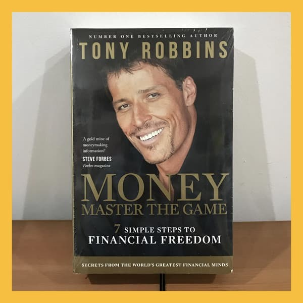 Foto Produk Buku Import Money Master the Game by Tony Robbins (Original Paperback) dari Book World