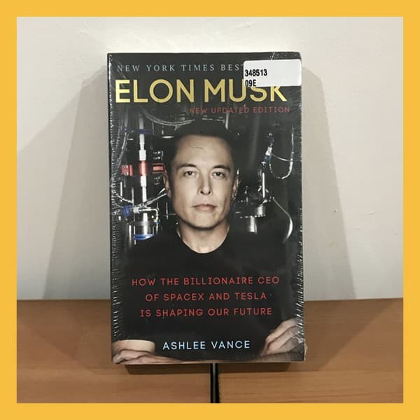 Foto Produk Buku Import Elon Musk by Ashlee Vance (Original Paperback) dari Book World