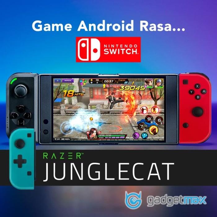 Foto Produk Razer Junglecat Original - Android Rasa Nintendo Switch dari Gadgetmax.net