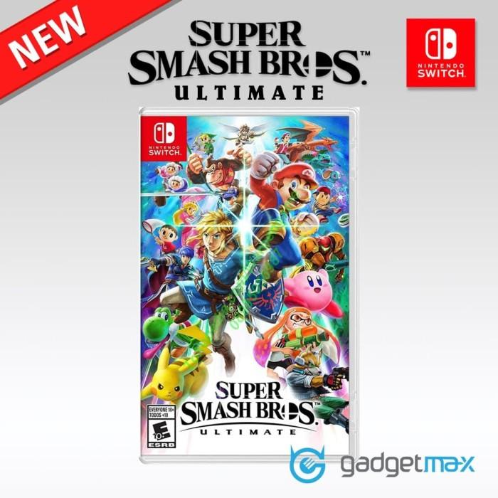 Foto Produk Nintendo Switch Super Smash Bros Ultimate dari Gadgetmax.net