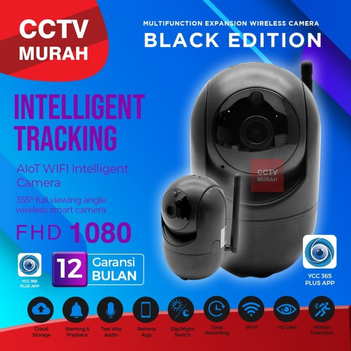Foto Produk IP Cam CCTV Wifi Wireless Portable Smart Babycam [BEST SELLER] dari CCTV-MURAH