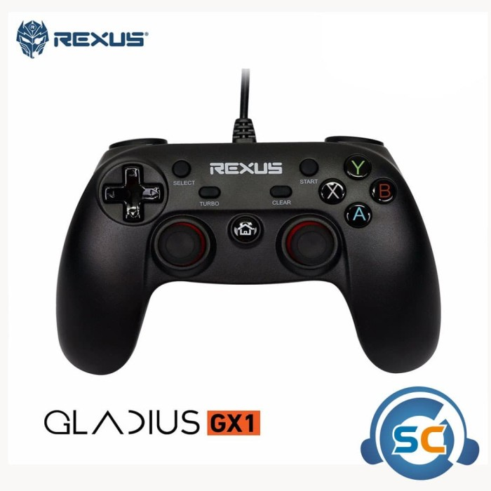 Foto Produk Gamepad Rexus Gladius GX1 dari StarComp