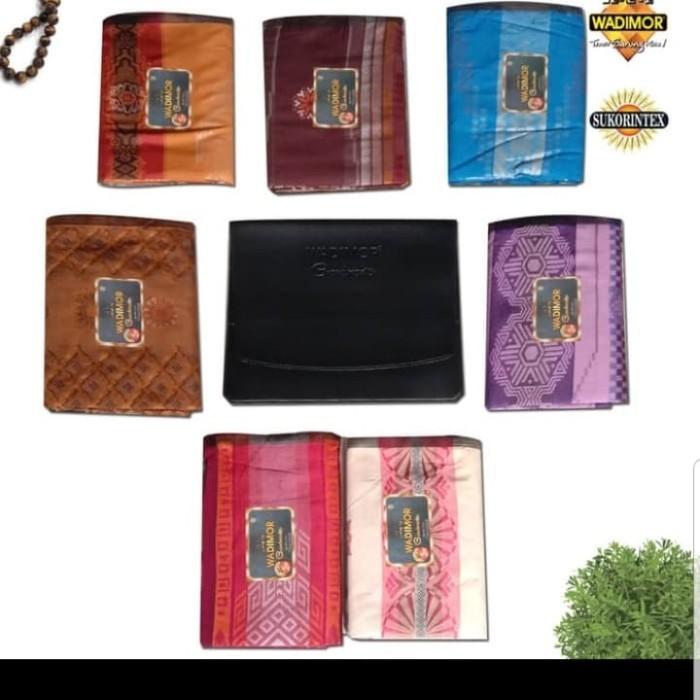 Foto Produk Sarung Wadimor Grandmaster isi 3 potong dari Anugrah Sarung