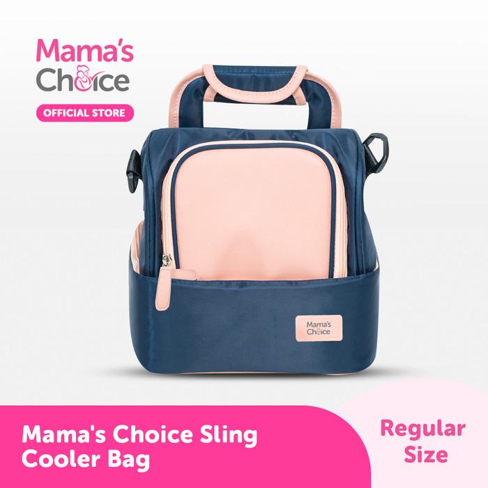 Foto Produk Mama's Choice Sling Cooler Bag - Biru dari MamasChoiceID
