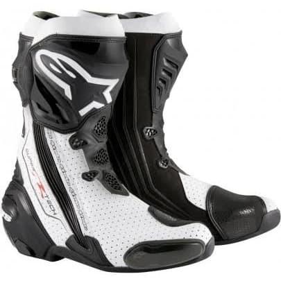 Foto Produk Alpinestars Supertech R White Black Vented dari Juragan Helm ID
