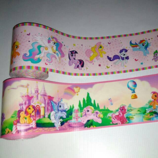 Jual Wallborder Wallpaper Dinding Tembok Kuda Unicorn Horse My Little Pony Jakarta Barat Monaliastore Tokopedia