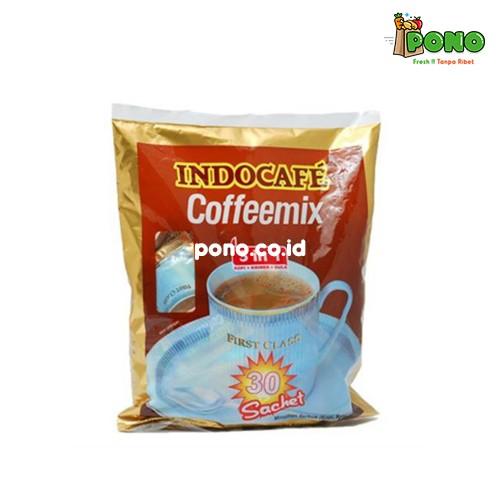 Foto Produk MT01 Indocafe Coffemix 3 in 1 Box isi 5 dari Pono Area Solo