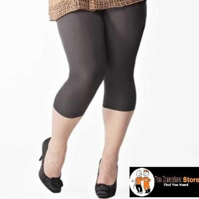 Jual Celana Legging Pendek Spandek Wanita 3 4 Sporty Murah Putih Terjamin Jakarta Barat Dillafalka Tokopedia