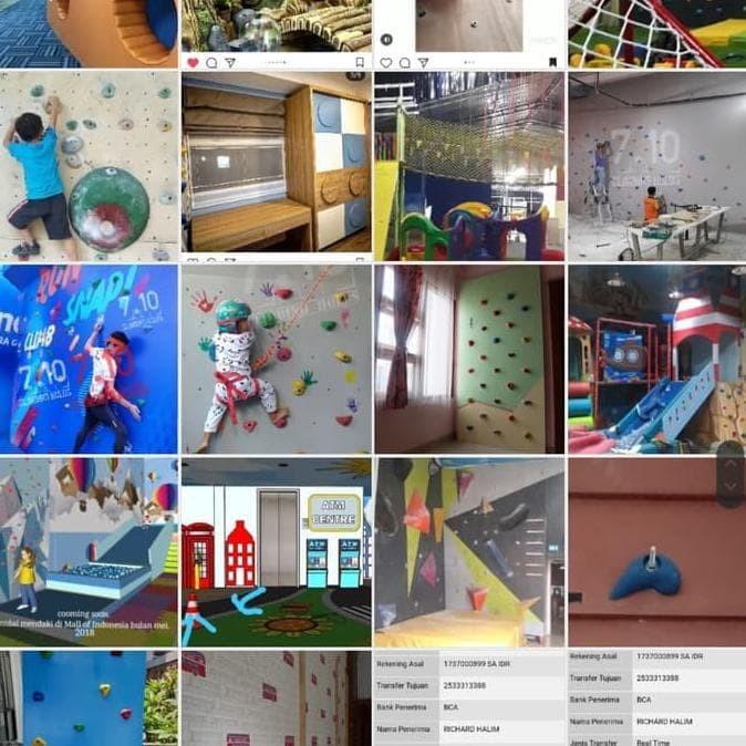 Jual Hoot Sale Poin Panjat Tebing Pemula Playground Fun Games Wall Climbing Jakarta Barat Ilhamolshop1 Tokopedia