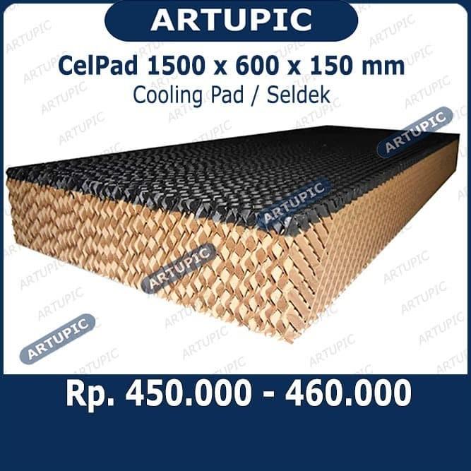 Foto Produk Celpad 1500 x 600 x 150 Celdek Selpad Seldek Cooling Pad Coolingpad dari ArtupicPeralatanPeternak