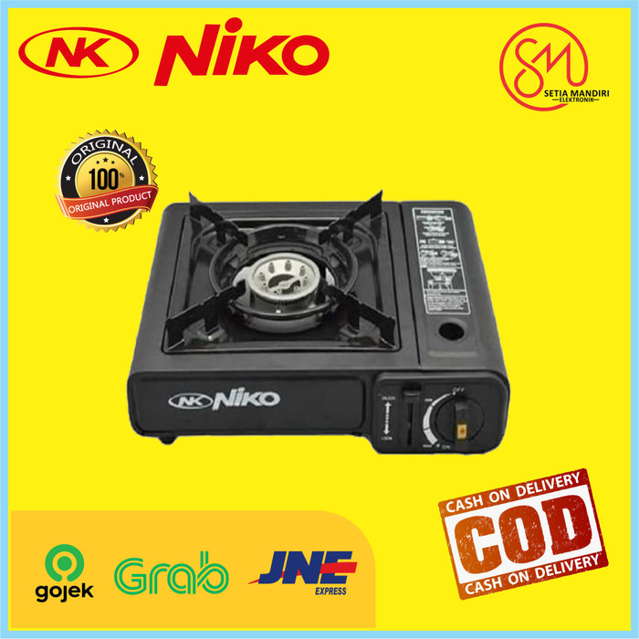 Foto Produk Niko Kompor Gas Portable 2IN1 NK 268 dari Setia Mandiri Elektronik